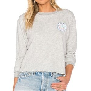 Spiritual Gangster cropped sweatshirt